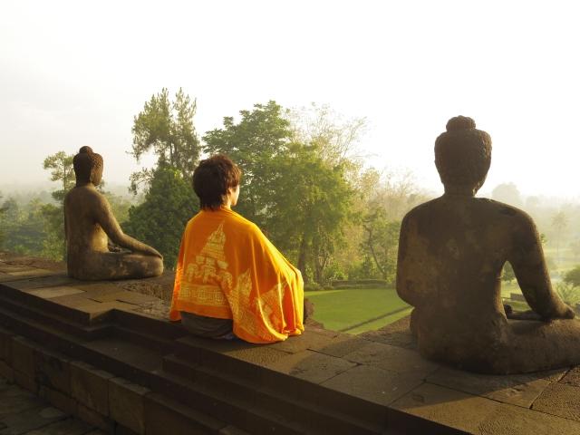 酵素浴 瞑想